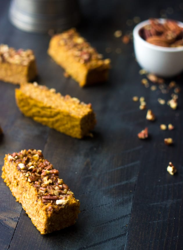 Pumpkin Protein Bars Pic