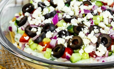 Greek 7 Layer Dip Photo