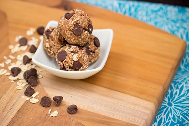 Peanut Butter Oatmeal Balls Photo