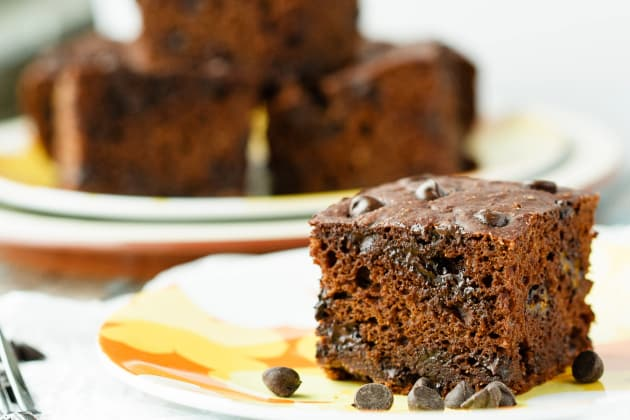 Healthy Chocolate Banana Snack Cake Photo