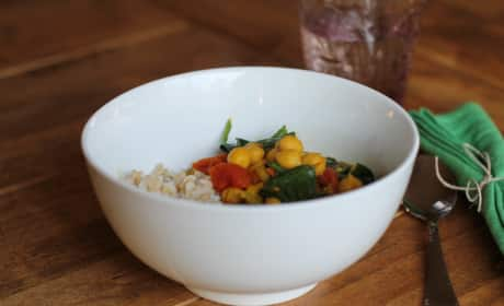 Indian Chickpea Stew Recipe