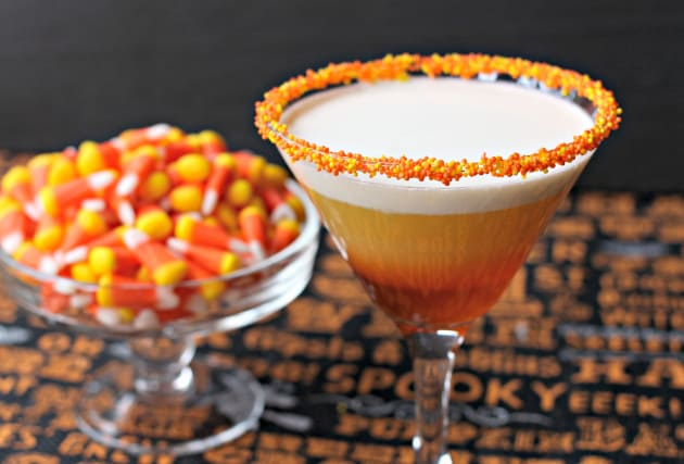 Candy Corn Martini Image