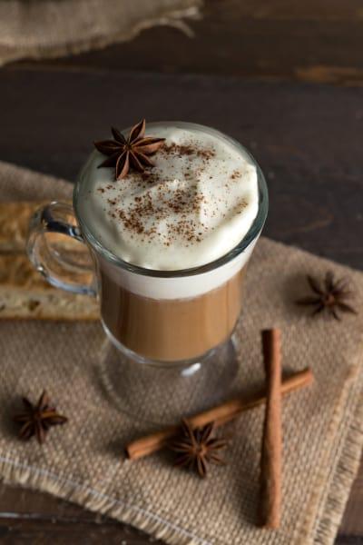 Boozy Pumpkin Chai Latte Picture