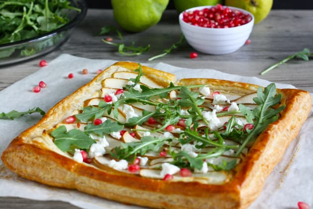 Pear and Goat Cheese Tart Photo