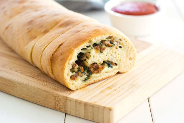 Stuffed Spinach Bread Photo