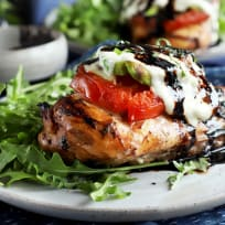 Grilled Caprese Avocado Chicken Recipe