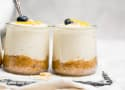 No Bake Mini Lemon Cheesecakes Recipe