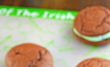 Mint Chocolate Chip Whoopie Pies Image
