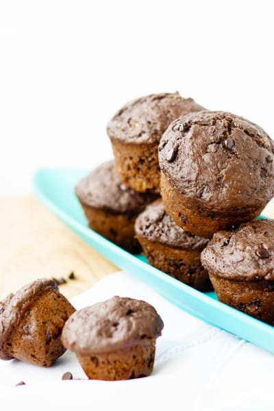 Healthy Chocolate Muffins Image