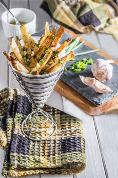 Herb & Garlic Oven Fries Picture