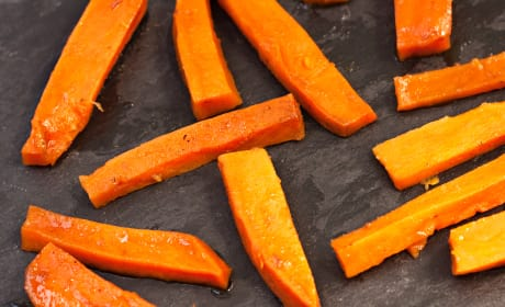Apple Butter Glazed Sweet Potatoes Picture