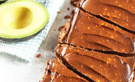 Spicy Chocolate Avocado Tart Picture
