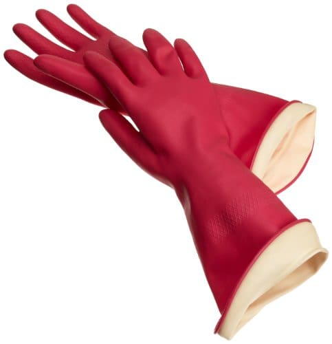 Casabella Waterstop Premium Rubber Gloves