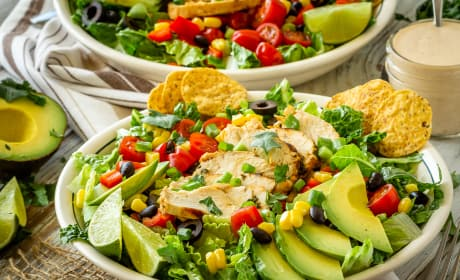 Chicken Taco Salad Photo