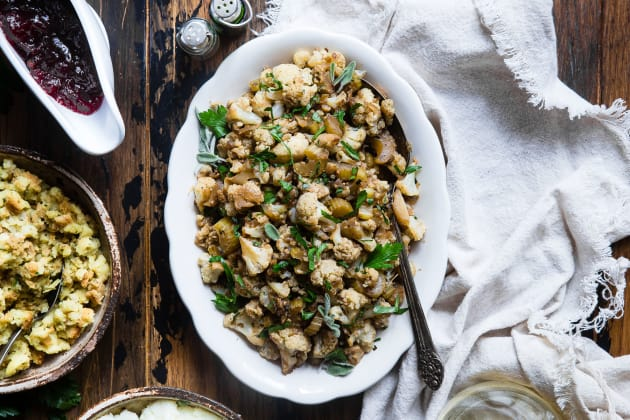 Cauliflower Rice Stuffing Photo