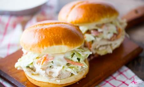 Ranch Pulled Chicken Sandwich Recipe