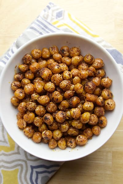 Pan Fried Chickpeas Pic