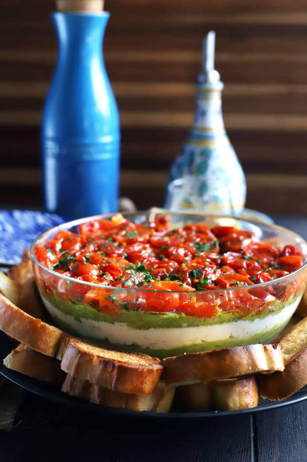 File 3 - Avocado Ricotta Tomato Pesto Layer Dip