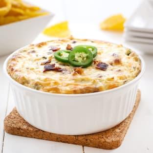 Jalapeno cream cheese dip photo