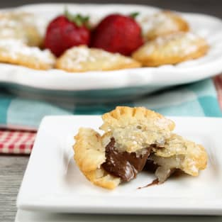 Fried nutella hand pies photo