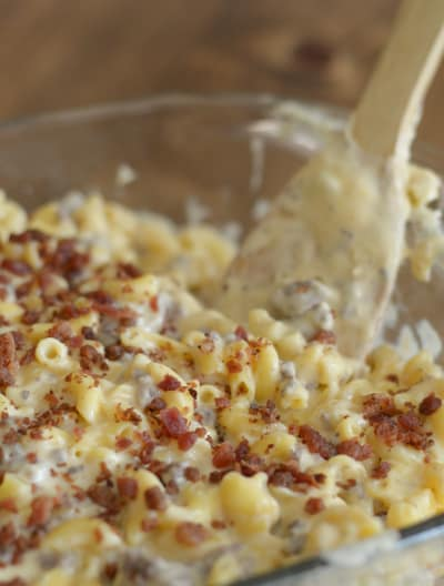 Gluten Free Beefy Mac and Cheese Image