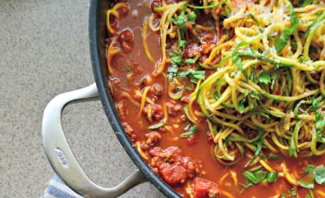 Zoodles Bolognese Pic