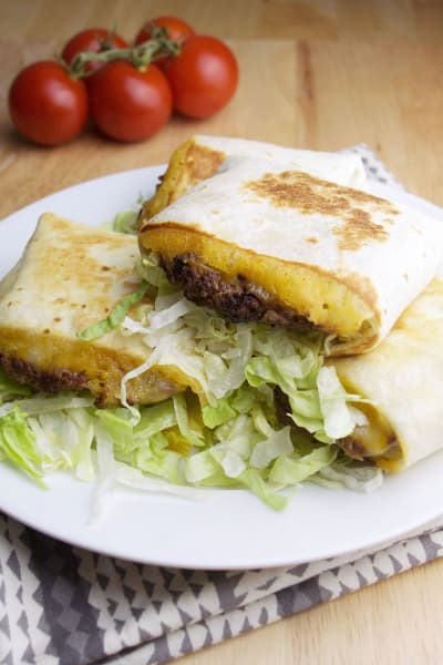 Quesadilla Burgers Picture