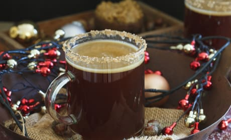 Gingerbread Hot Buttered Rum Recipe