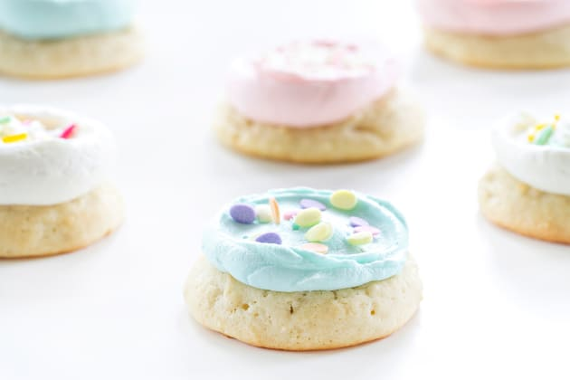 Soft Frosted Sugar Cookies Photo