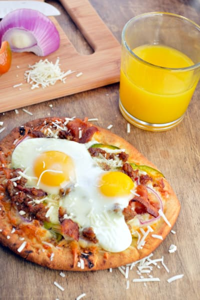 Easy Breakfast Pizza Picture
