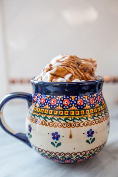 Spiked Mocha Latte Image