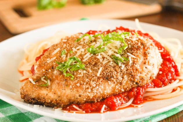 Gluten Free Chicken Parmesan Image