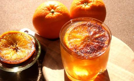 Charred Orange Whiskey Recipe