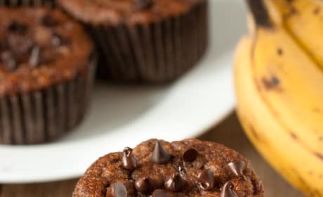 Paleo Banana Chocolate Chip Muffins Picture
