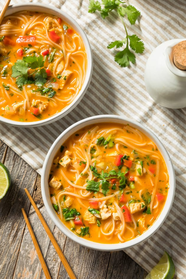 Red Curry Noodle Soup Pic
