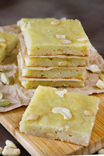 Cashew Potato Bars Image