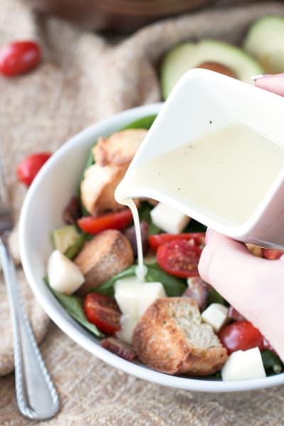 Avocado Caprese Panzanella Salad Picture