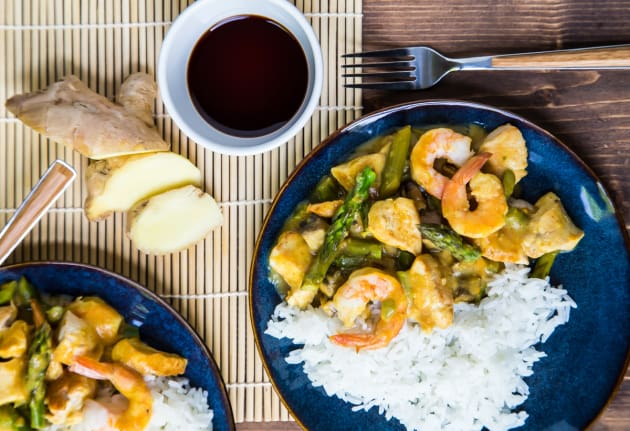 Chicken and Shrimp Curry Photo