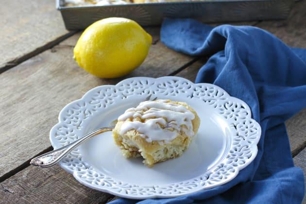 Cardamom Lemon Rolls Photo
