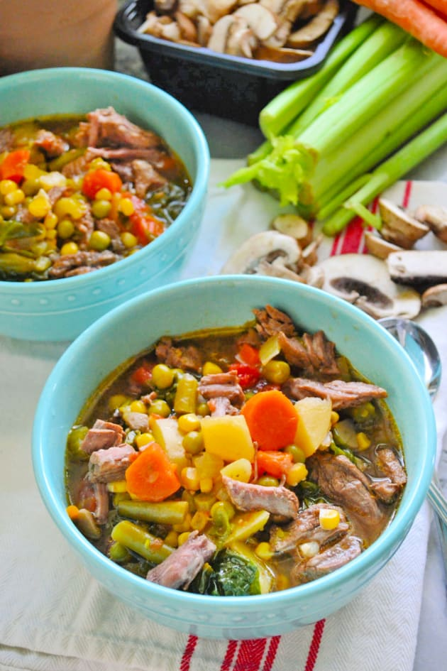 Instant Pot Vegetable Beef Soup Picture