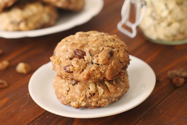 Healthy Oatmeal Cookies Photo