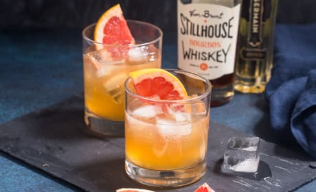 Grapefruit Whiskey Sour Recipe