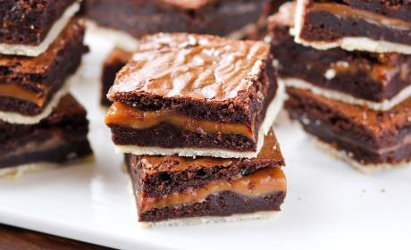 Twix Brownies Recipe