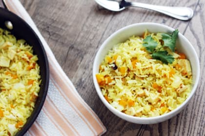 Indian Fried Rice at Home
