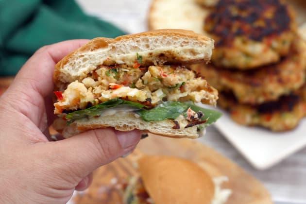 Shrimp Burgers Image