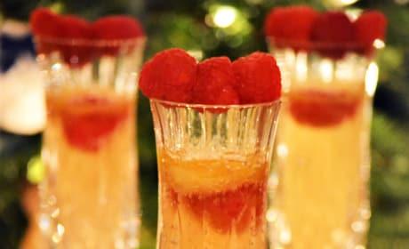 Raspberry Mango Bellini Image