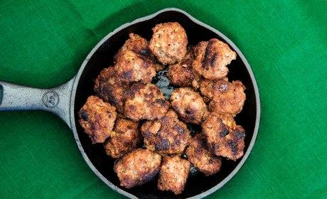 Low Carb African Merguez Meatballs Recipe