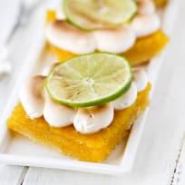 Key Lime Pie Meringue Bars Recipe