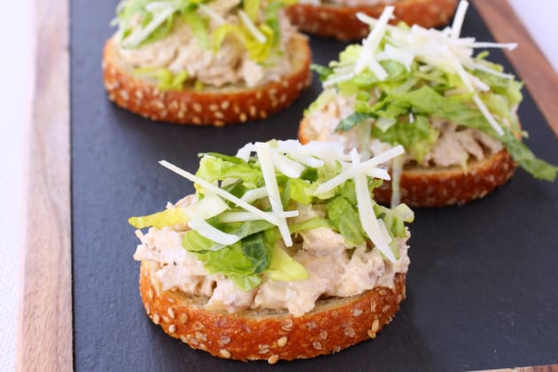 Chicken Caesar Bruschetta Photo