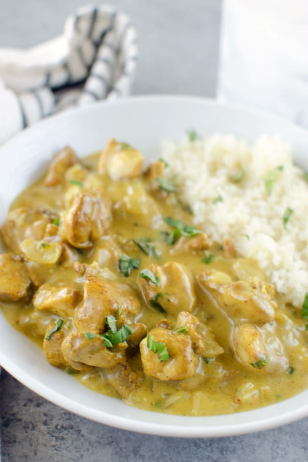 Paleo Basil Chicken Coconut Curry Picture